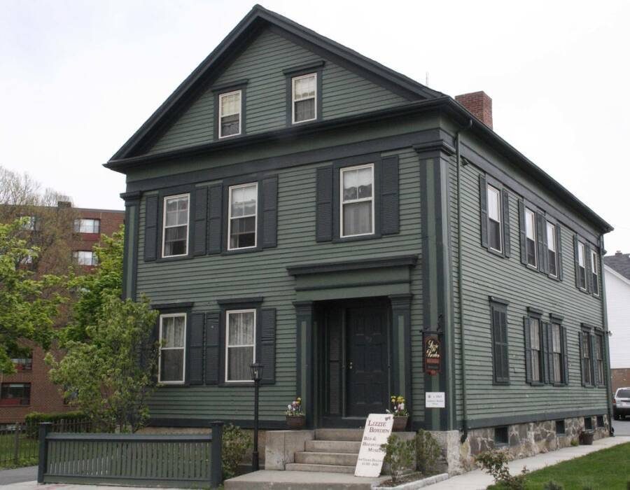 Lizzie Border House in Fall River, Massachusetts