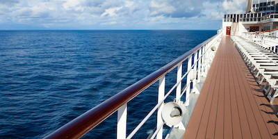 Empty Cruise Top Deck
