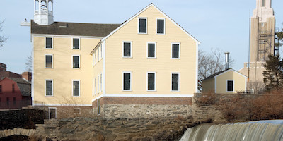 Slater Mill in Pawtucket Rhode Island